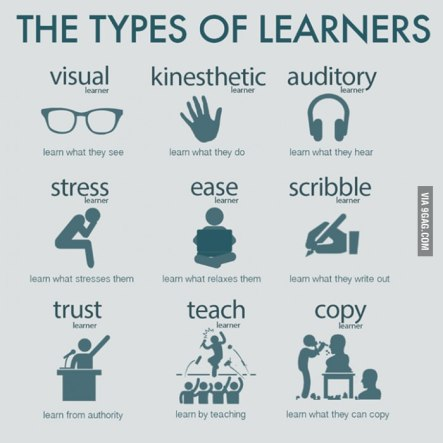 Types of learners: a must read xD